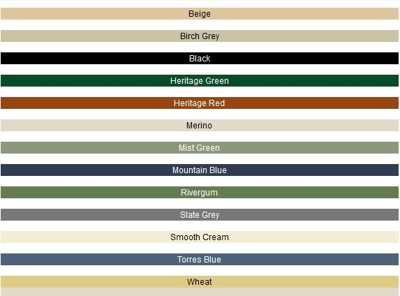 Tank Colours